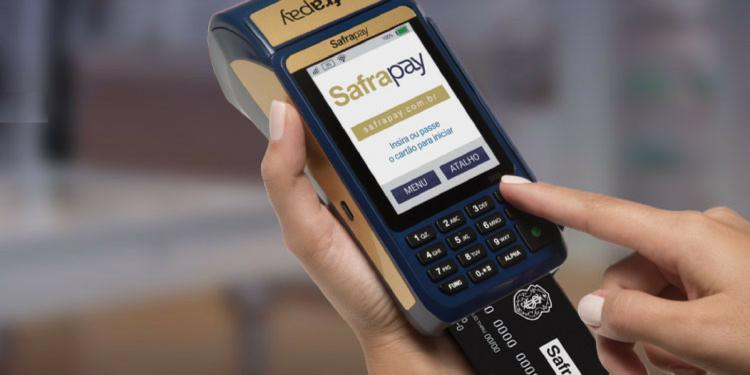 SafraPay maquina de cartao do banco safra 1600x800 c center 750x375 - Máquina de cartão de crédito para autônomo, qual é a melhor?